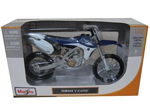 Maisto Yamaha YZ450F Motorcycle Model 1/12