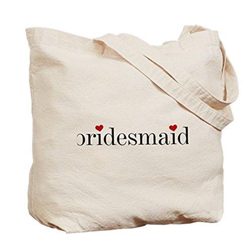 CafePress color negro texto de dama Tote Bag–Natural gamuza de bolsa de lona bolsa, bolsa de la compra
