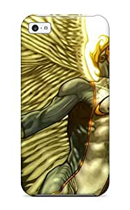 Tpu Case Cover For Iphone 5c Strong Protect Case - Angel Design