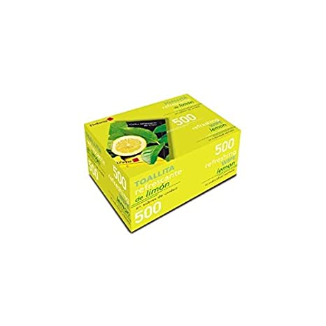 Prohima International S.A. - Toallitas Limon Caja 500 Und: Amazon.es: Hogar