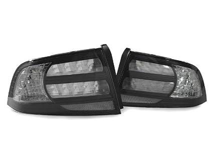 Amazoncom DEPO Acura TL TypeS Black Clear Tail - Acura tl tail lights
