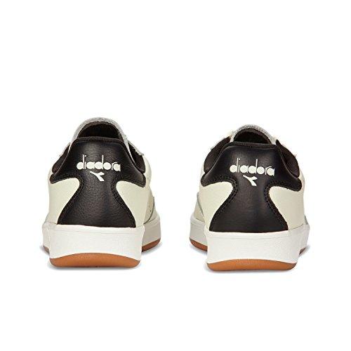 Basso Collo a Premium B nero Uomo Bianco Elite C0013 L Ottico Diadora Sneaker q0XYw0a