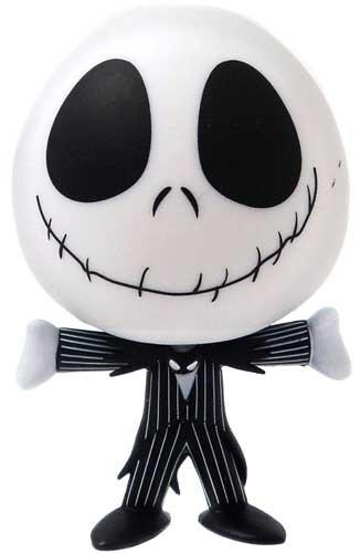 Funko Disney / Pixar Mystery Mini Vinyl Figure Jack Skellington [Smiling, Mouth CLOSED, Arms Out]