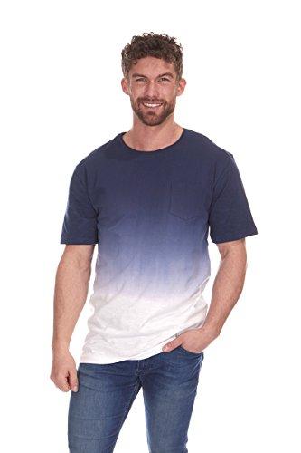 CARGO BAY Mens Dip Tie Dye T-Shirt Top Tee