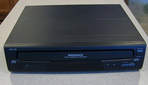 PHILIPS / MAGNAVOX 5 DISK CD PLAYER CDC725 / CDC 725