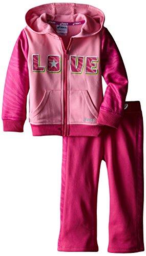 ASICS Little Girls' Toddler Girls 2 Piece Big Love Set,