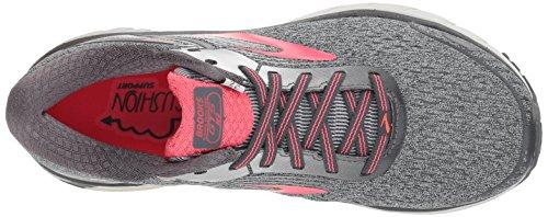 Brooks Women's Adrenaline GTS 18 Ebony/Silver/Pink
