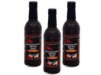 - House of Tsang Szechuan Spicy Sauce 11.5oz Bottles, Pack of 3