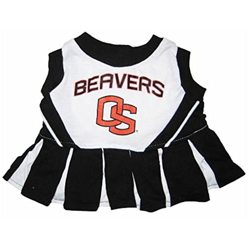 Pets First Oregon State University Dog Cheerleader Outfit, X-Small