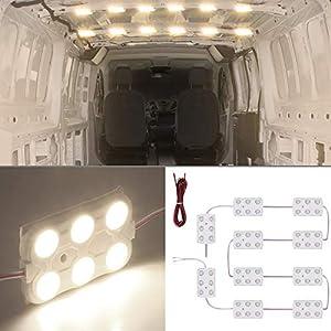 41Sd5bt7yrL. SS300 60LED Modul Innen Auto Beleuchtung Ihnenbeleuchtung 12V Wärmt weiß 5M Kabel für Camper Van Caravan Truck Off Roader…