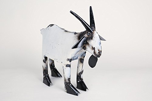 Goat-Recycled Metal Art-Sculpture-Garden