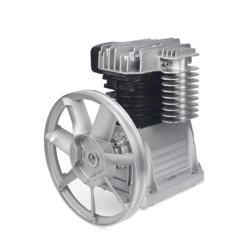 2HP Aluminum Air Compressor Pump 8.2 CFM 145 PSI Single Stage Twin Cylinder