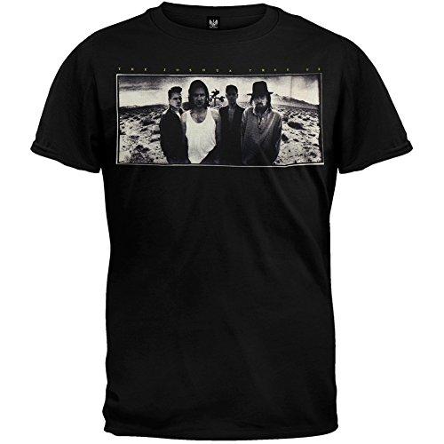 U2   Mens Joshua Tree Soft T Shirt   X Large Black