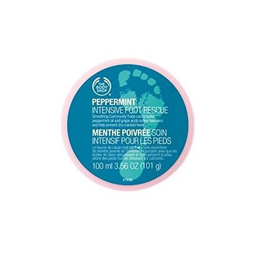 Peppermint Foot Lotion (The Body Shop Peppermint Intensive Foot Rescue - 100ml)