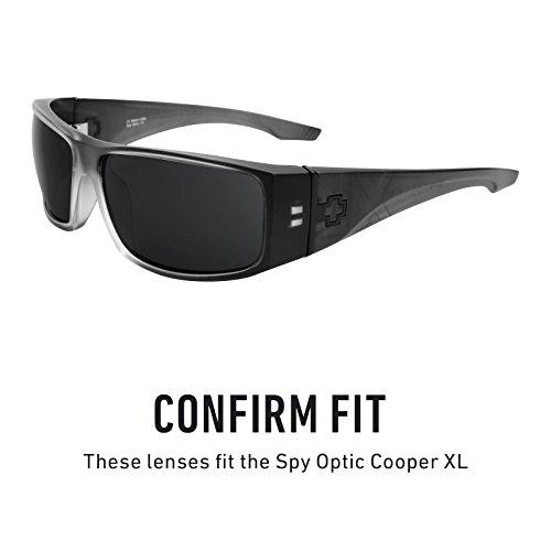 de para Mirrorshield Púrpura Polarizados Cooper XL Lentes Spy Revant Plasma Optic repuesto múltiples Opciones — HZ5RF