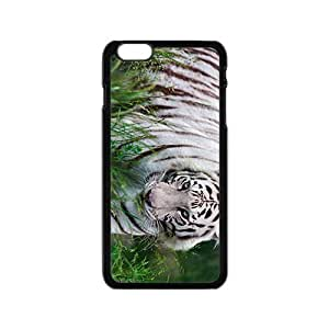 White Tiger Hight Quality Plastic Case for Iphone 6