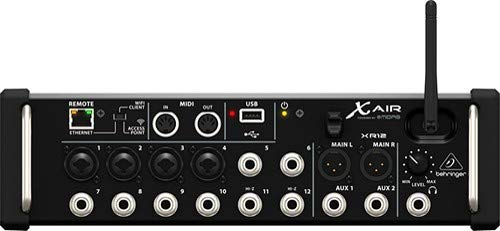 Behringer X Air XR12 Tablet-Controlled Digital Mixer (Best Tablet Controlled Mixer)