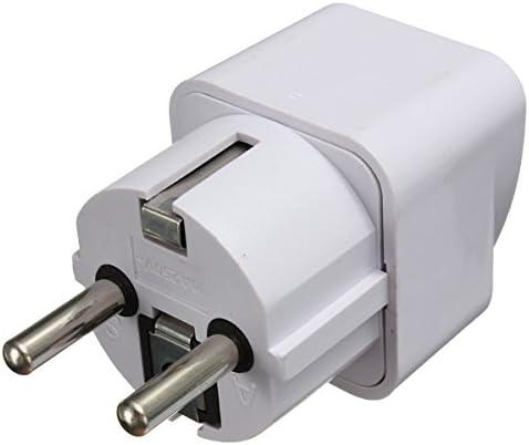 Queenwind ユニバーサル米国/英国/AU から EU への AC 電源アダプタ2ピントラベルコンバータアダプターソケット充電器