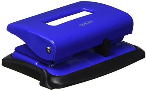 Herlitz 1610450 Bürolocher 1,6 blau mit Anschlagschiene