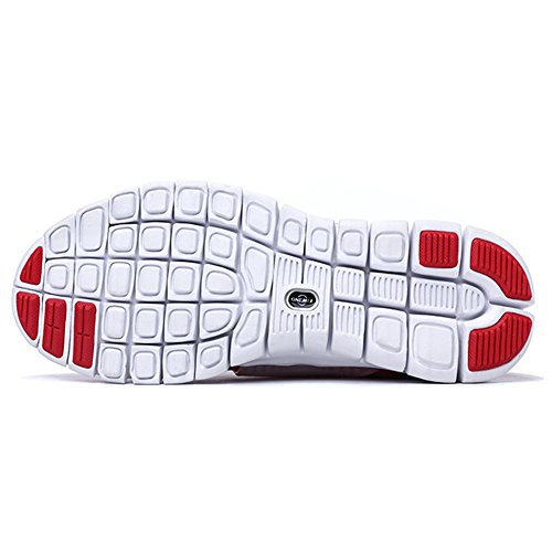 Onemix Shoes Sport Walking White Running on Shoes Women And Sneakers Men Red Shoes Slip FxaqrFC