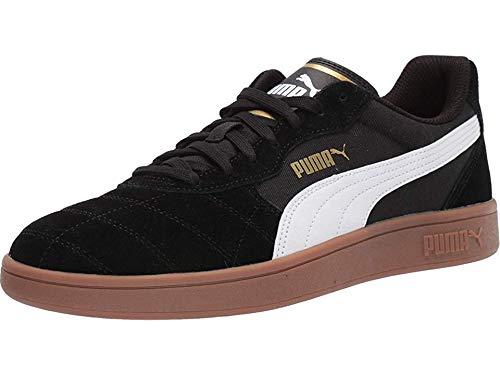 PUMA Men's Astro Kick Sneaker White-teamgold/Black, 11.5 M US (Super Shoes)