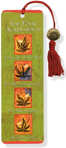The Four Agreements Beaded Bookmark