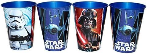 Unbekannt 4 pieza Star Wars Vaso Zumo Vasos Set: Amazon.es ...