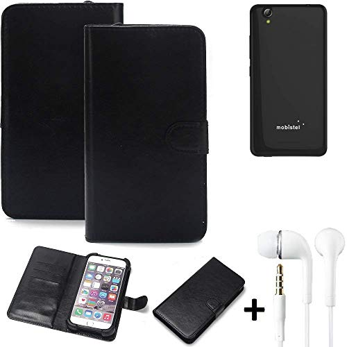 K-S-Trade Wallet Case Handy Hülle Kompatibel Mit Mobistel Cynus E7 Schutz Hülle Smartphone Flip Cover Flipstyle Tasche…