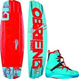 O'Brien Spark 137 Wakeboard with Spark Bindings, Size 6-9