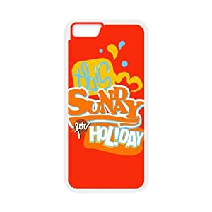 sunday for holiday iphone 6s 4.7 Inch Cell Phone Case White DWRS6513591659839