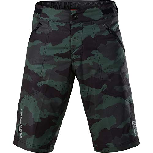 Troy Lee Designs Skyline Short Shell - Men's Camo Stealth, 38
