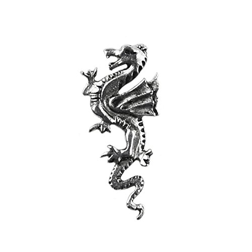 Quality Handcrafts Guaranteed Dragon Lapel Pin by Quality Handcrafts Guaranteed