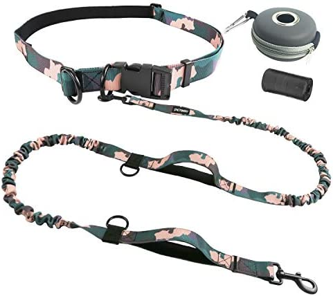 PETDOM Hands Free Leash Camo