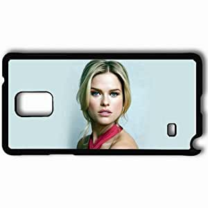 Personalized Samsung Note 4 Cell phone Case/Cover Skin Alice Eve Celebrities Black
