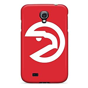 Anti-scratch And Shatterproof Nba Atlanta Hawks 5 Phone Case For Galaxy S4/ High Quality Tpu Case