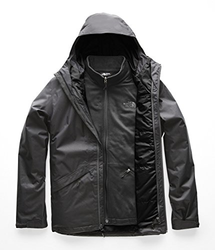 The North Face Men's Plumbline Triclimate Jacket - TNF Black & TNF Black - XL (Best North Face 3in1 Jacket)