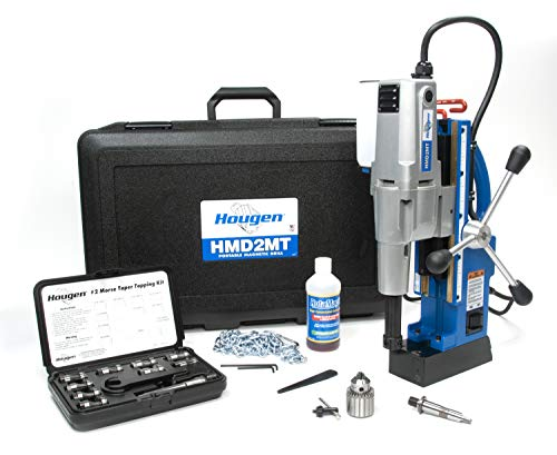 Hougen HMD2MT Fabricators Kit #2 Morse Taper Magnetic Drill with Coolant Bottle Plus 1/2