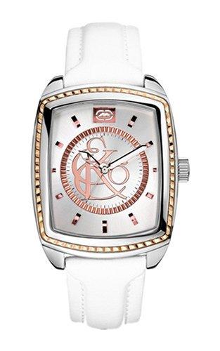 Marc Ecko Reloj Análogo clásico para Hombre de Cuarzo con Correa en Cuero E95041G1: Amazon.es: Relojes