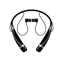 LG New Tone Pro Bluetooth Headset in Black, Retail Packaging