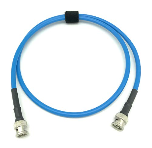 25ft AV-Cables 3G/6G HD SDI BNC Cable Belden 1505A RG59 - Blue ()