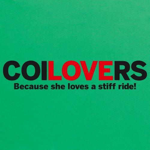 Love coilovers Camiseta, Para mujer Verde celta