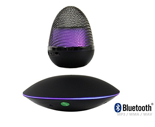 New Levitating/Floating Wireless Portable Bluetooth Speaker With HD Sound and Bass- Best Portable Bluetooth Speakers by Grand Illusions