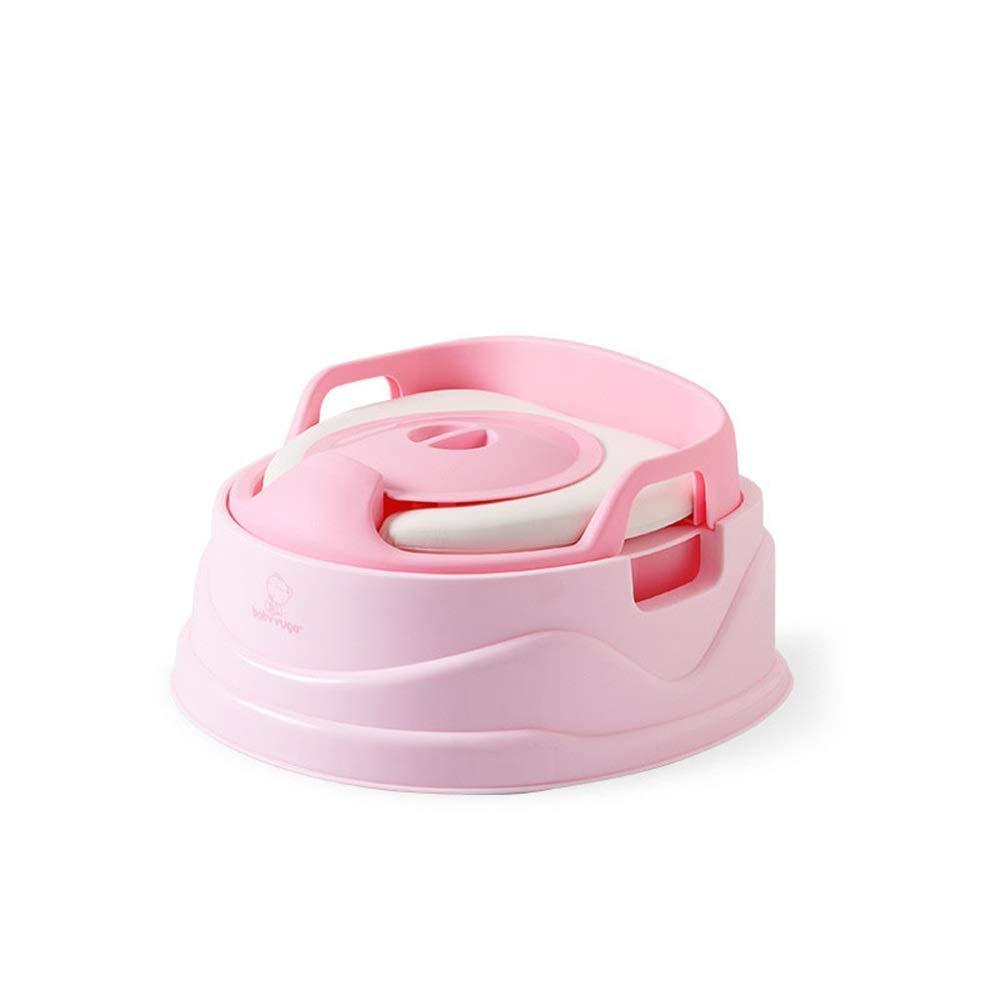 子供用トイレ 男の子と女の子のキャンプ旅行のための携帯用トラベルトイレ便器 - パーフェクトママのヘルパー 子供たちがトイレに行くように訓練する (色 : ピンク, サイズ : 40*37*22cm) 40*37*22cm ピンク B07TXM2JMZ