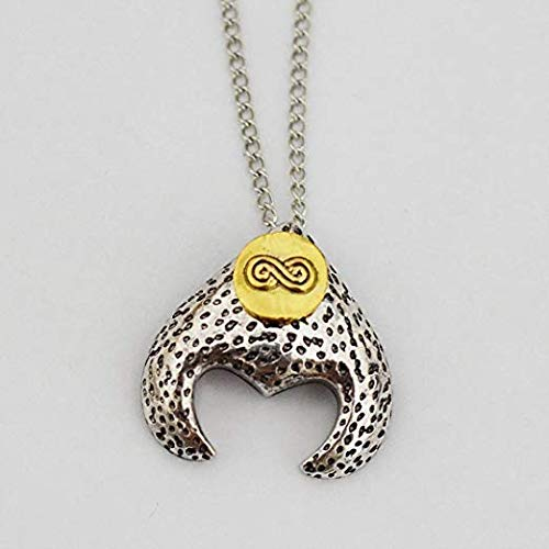 Labyrinth Goblin King Jereth's Necklace Replica Labyrinth Necklace Magic Necklace Labyrinth Pendant]()