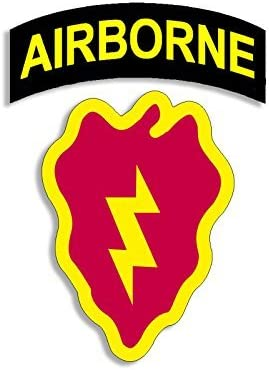 American Vinyl 4th BCT Airborne Lowest price challenge 25th ID Decal Sticker New products world's highest quality popular Fourt SSI