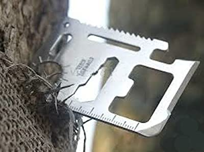 Mundus Tactical (TM)-- 11 Function, Credit Card Sized Survival Pocket Tool by Mundus Inc.