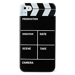 DUR Protective Hard ABS Case for iPhone 4 and 4S (Movies)