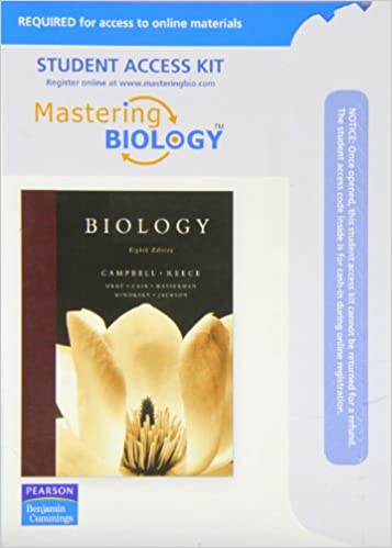 Amazon Com Mastering Biology With Pearson Etext Student Access Kit