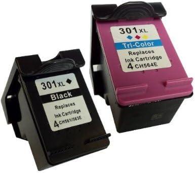 COMBO PACK - Remanufacturados HP 301XL Cartuchos de Tinta para ...