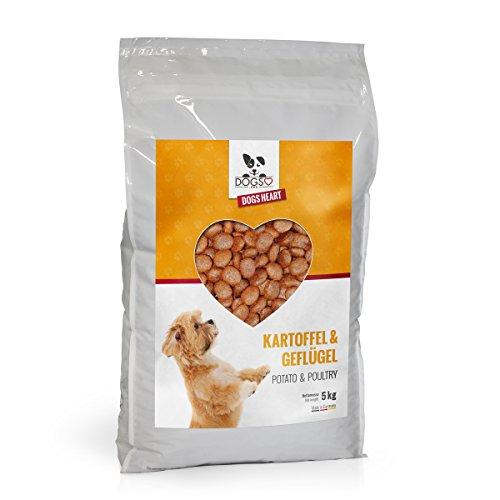 Dogs-Heart Geflügel & Kartoffel 5kg | mit hohem Fleischanteil | getreidefreies und hypoallergenes Hunde-Trocken-Futter